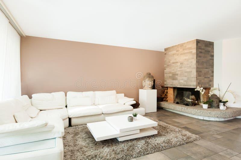 Download Interior, Beautiful Apartment Stock Photo - Image of carpet, space: 34641994