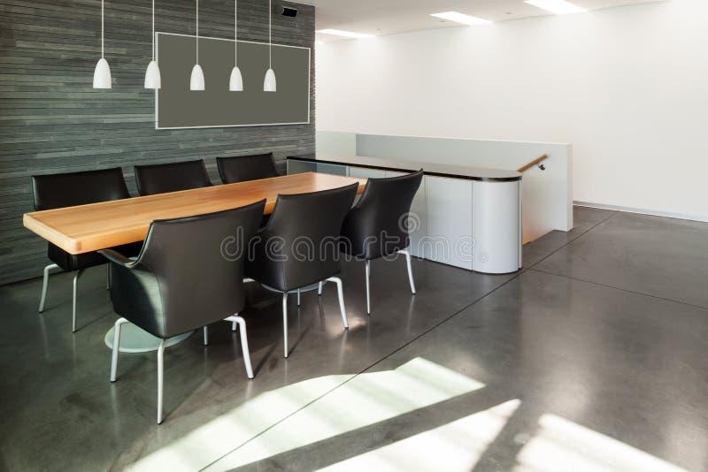 Interior, beautiful modern apartmen royalty free stock photography