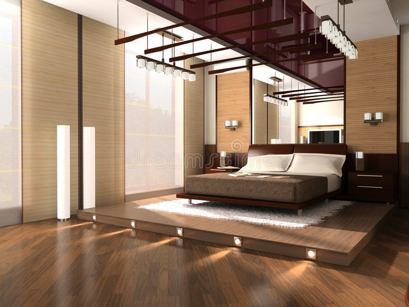 Download Interior Of A Bedroom Stock Photo - Image: 2252580