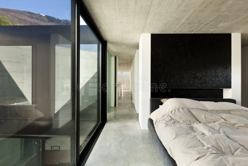 Download Interior, bedroom stock image. Image of floor, cement - 24764943