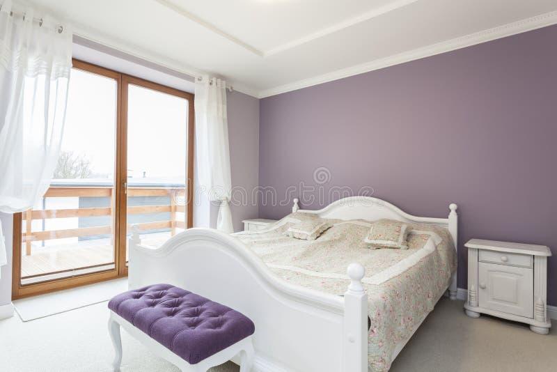 Toscana - dormitorio imagen de archivo