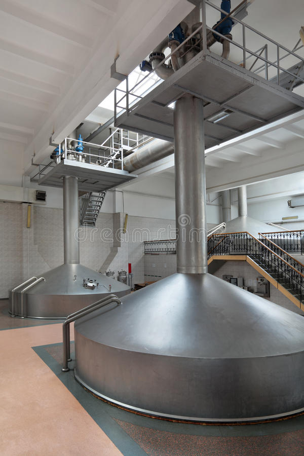 Download Interior of the brewery stock photo. Image of modern - 37581600