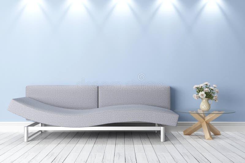 Interior brilhante moderno ilustração stock