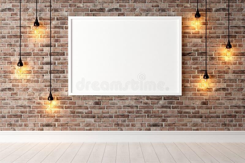 Download Interior Brilhante Moderno 3d Rendem Ilustração Stock - Ilustração de home, projeto: 65581520