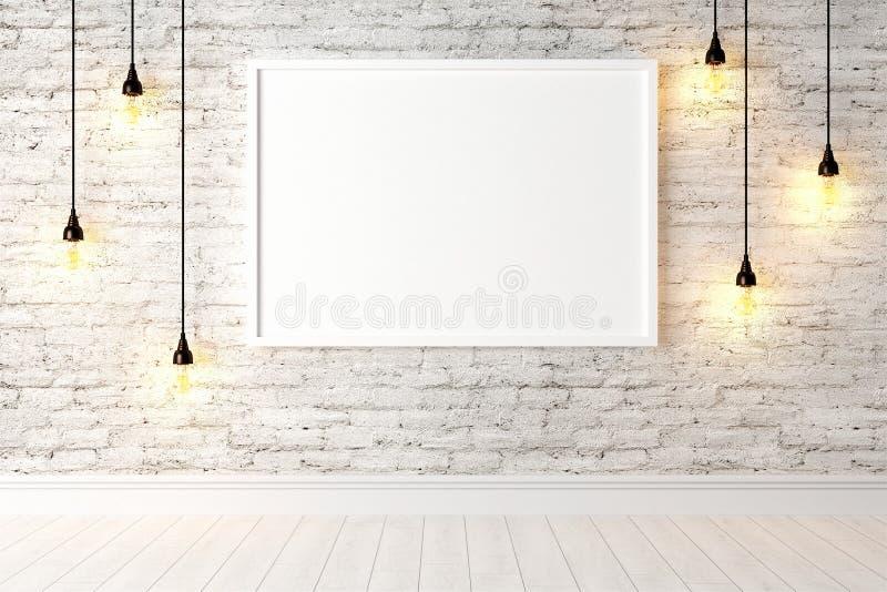 Download Interior Brilhante Moderno 3d Rendem Ilustração Stock - Ilustração de home, assoalho: 65581543