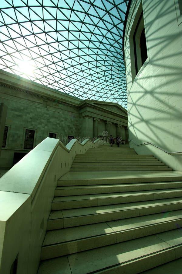 Interior of British Museum royalty free stock photos