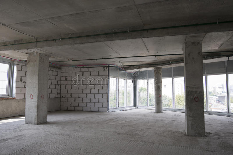 Download Interior Of The Building Under Construction Royalty Free Stock Photos - Image: 33267778