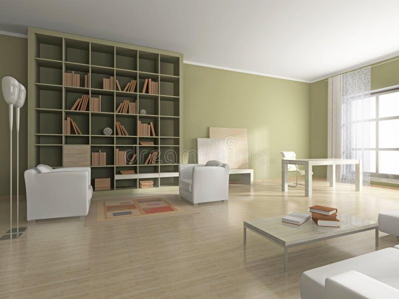 Download Interior of the cabinet stock illustration. Illustration of hotel - 10298015