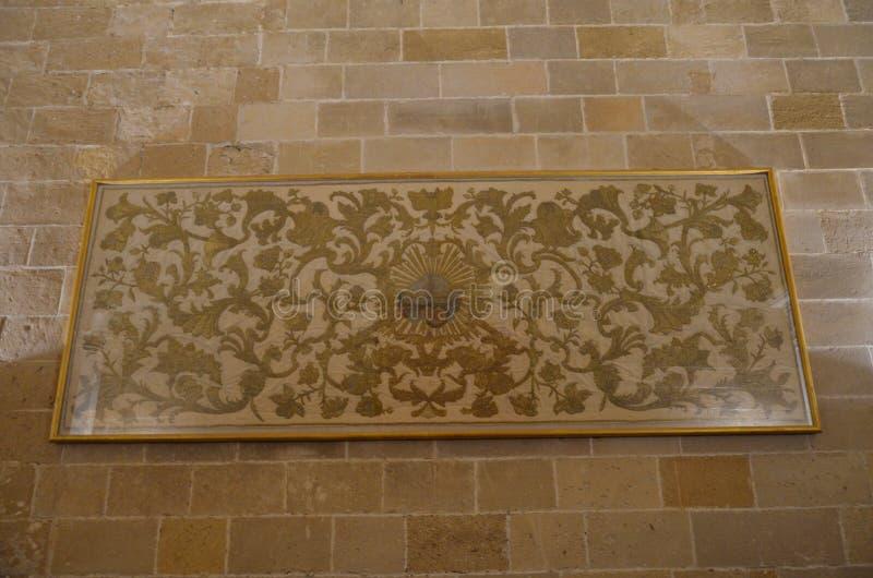 Interior of the Capella Palatina in Palazzo dei Normanni Norman Palace - Palermo - Sicily - Italy royalty free stock photos