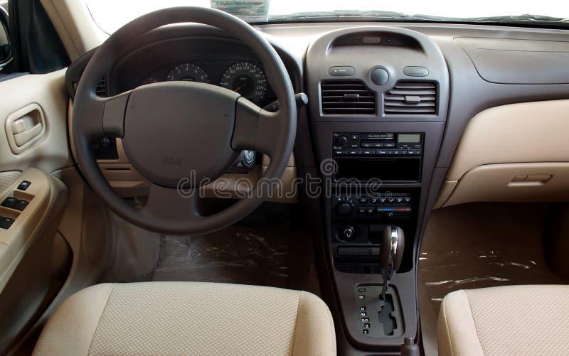 Interior of a car royalty free stock photos