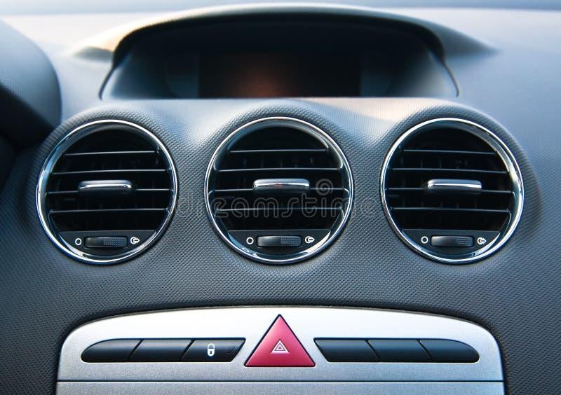 Interior cars element. Retro styled stock photo