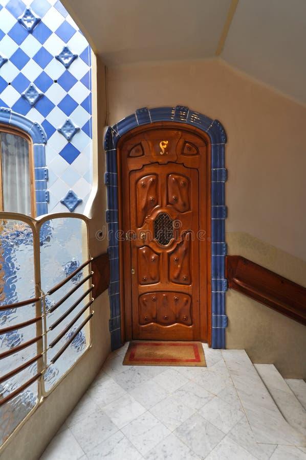 Interior of Casa Batllo stock photos