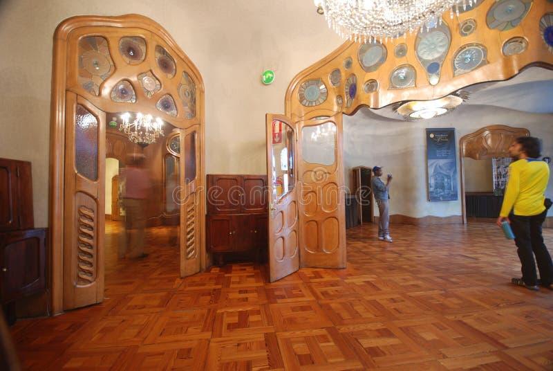 Interior of Casa Batllo royalty free stock photo