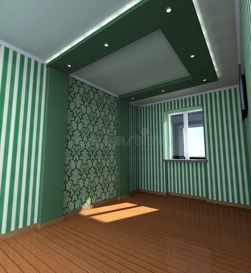 Interior casero 3D imagen de archivo libre de regalías
