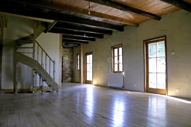 Interior casero de la granja fotos de archivo