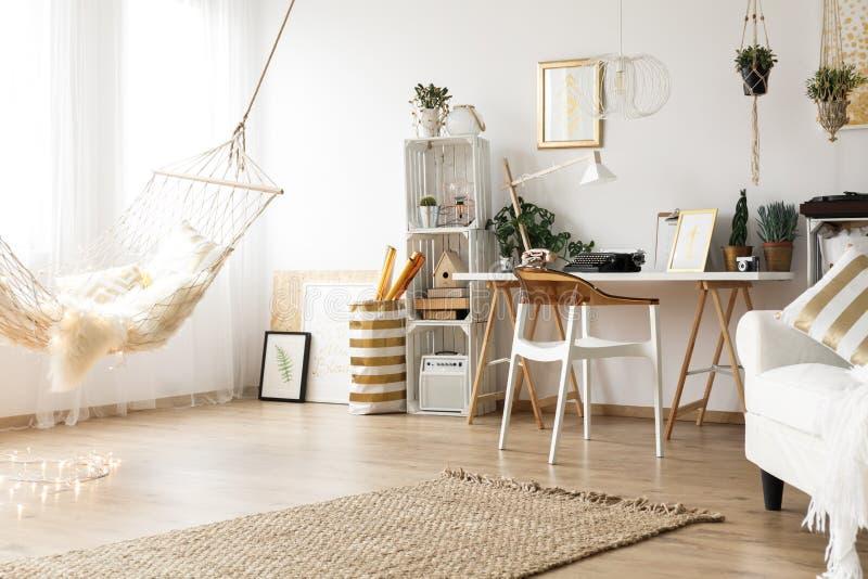 Interior casero de moda imágenes de archivo libres de regalías