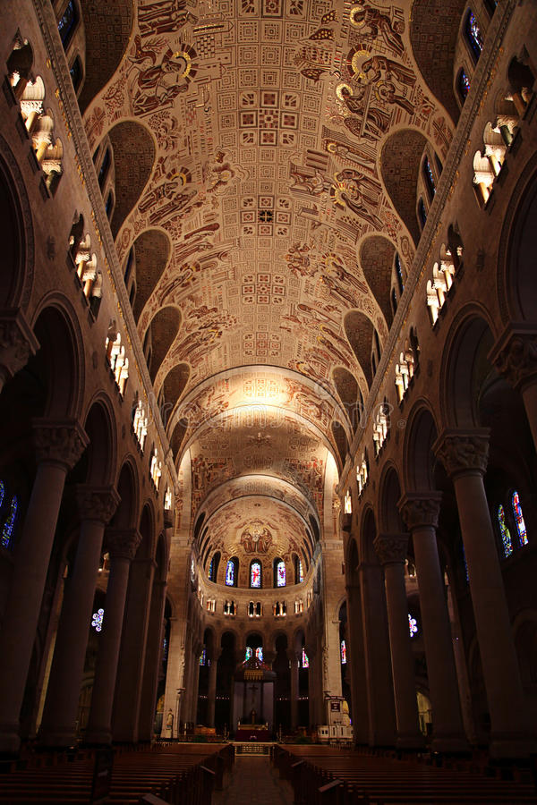 Download Interior of cathedral stock photo. Image of religion - 14153044