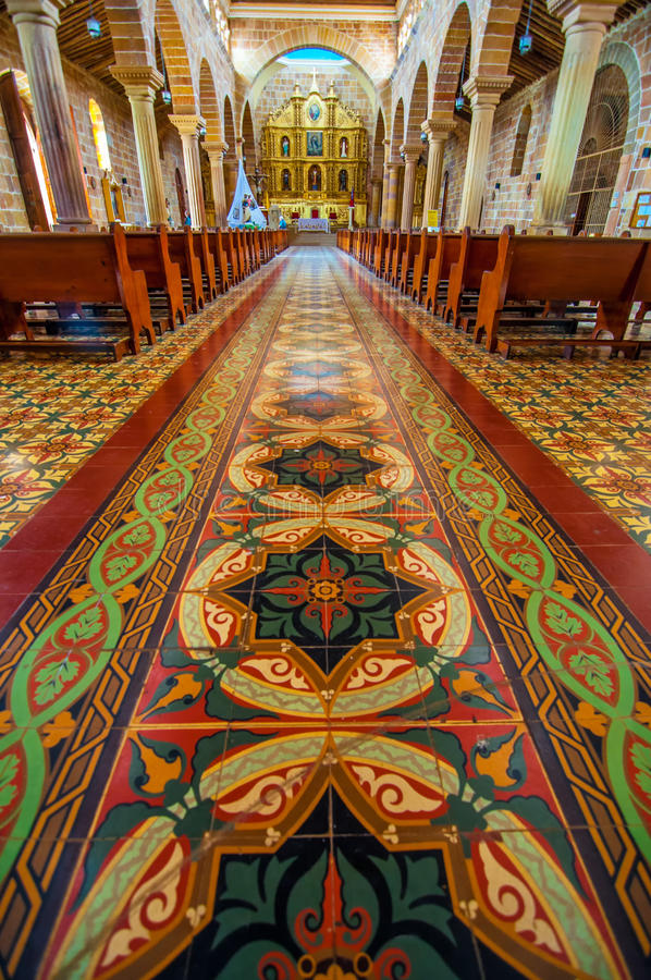 Download Interior of Cathedral stock photo. Image of church, architecture - 26808972