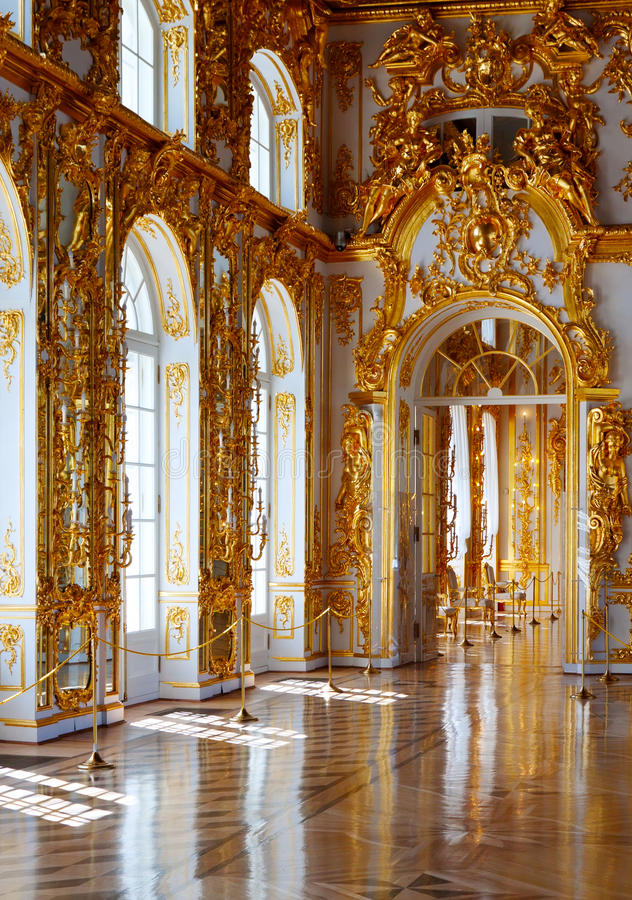 Download : Interior Of Catherine Palace Editorial Stock Image - Image: 27985224