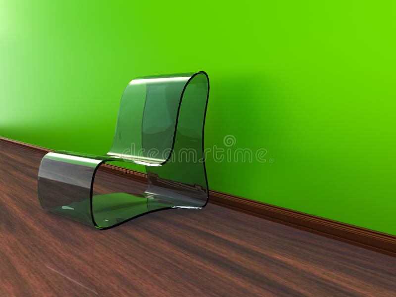 Download Interior With A Chair stock illustration. Illustration of large - 24989533