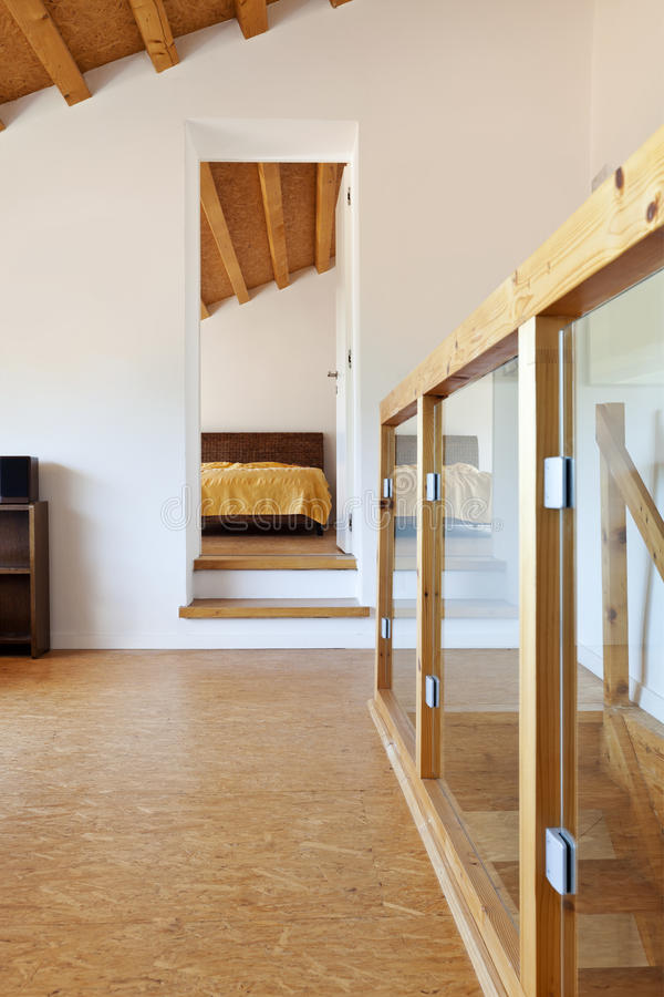 Download Interior chalet stock image. Image of indoor, empty, perspective - 25735049