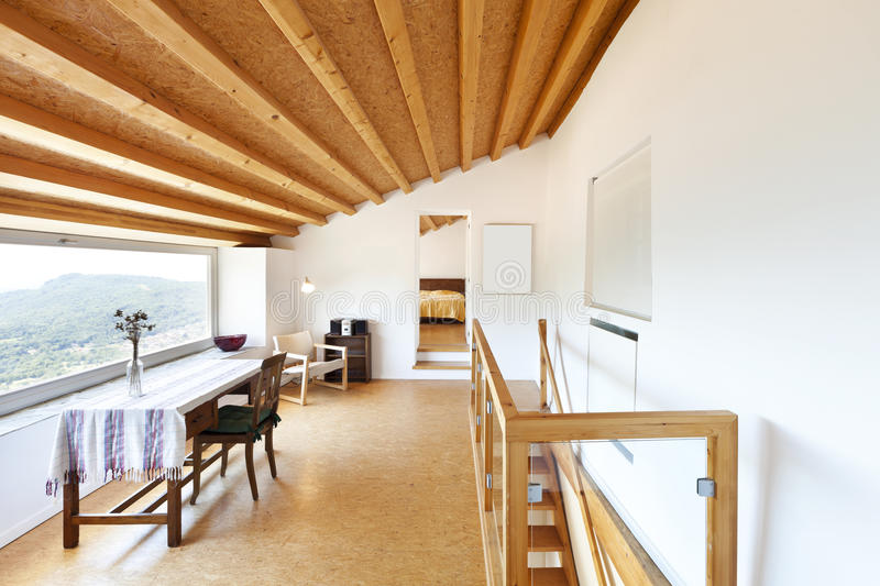 Interior chalet royalty free stock image
