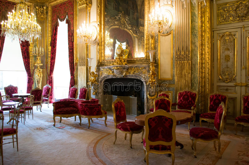 Interior Chateau Of Versailles Editorial Image - Image of europe ...