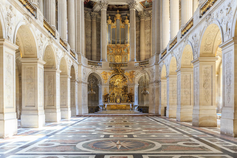 Interior Chateau Of Versailles, Versailles, France Editorial Photo ...