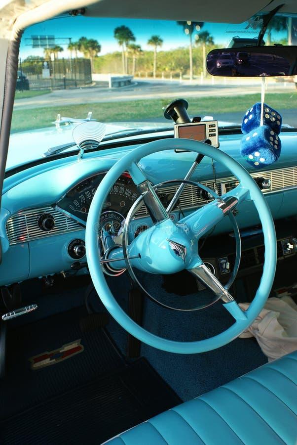 Interior Of Chevrolet '55 Bel Air Editorial Image