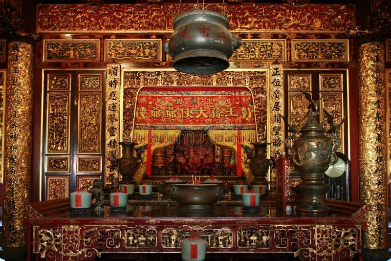 Interior chino foto de archivo