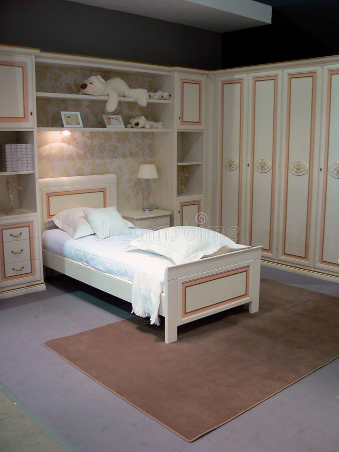 Interior clásico blanco foto de archivo