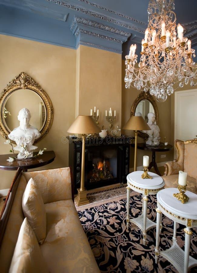 Interior clássico imagens de stock royalty free