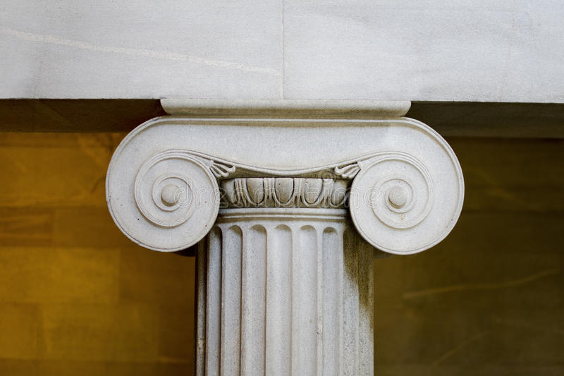 Download Interior Classical Pillar Closeup Stock Image - Image: 18568017