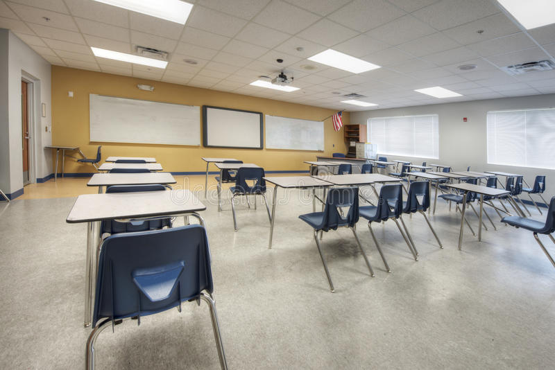 Download Interior of Classroom stock image. Image of range, high - 25491707