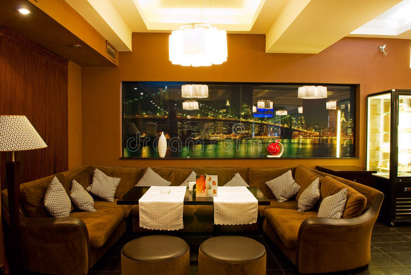 Download Interior Of Coffee Restaurant Stock Image - Image: 6586965