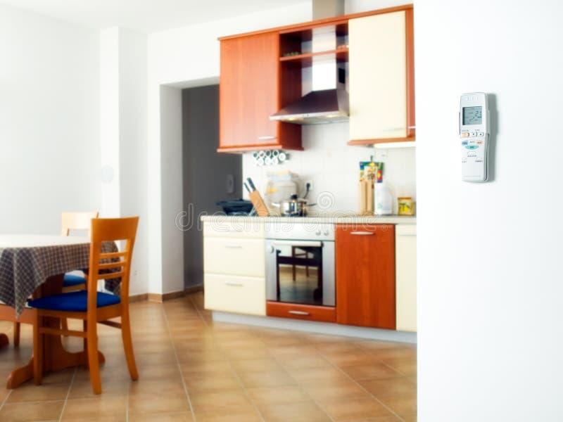 Interior com ar condicionado imagens de stock