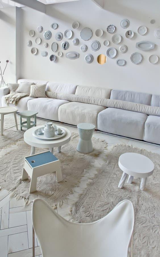 Interior com sofá foto de stock royalty free