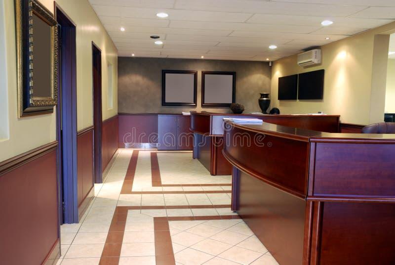 Interior con estilo de la oficina imagenes de archivo