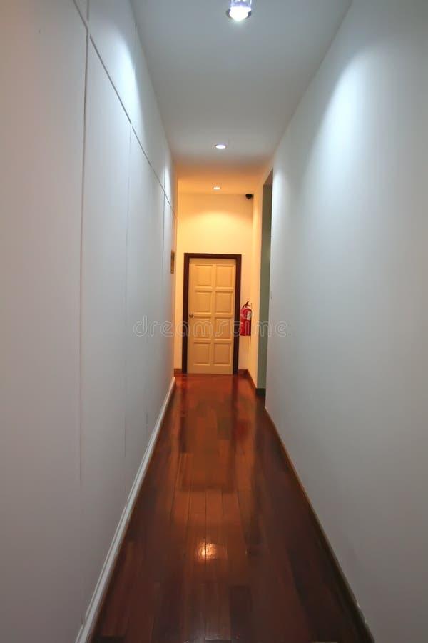 Interior corridor stock photos