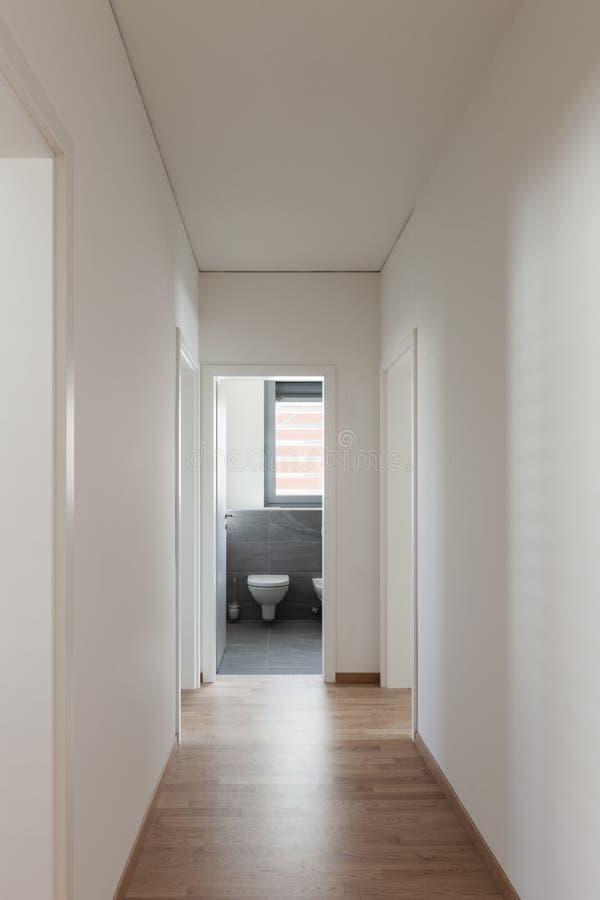 Interior, corridor stock image