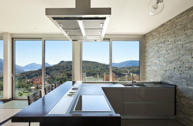 Download Interior, cozinha imagem de stock. Imagem de vazio, vidro - 27010921