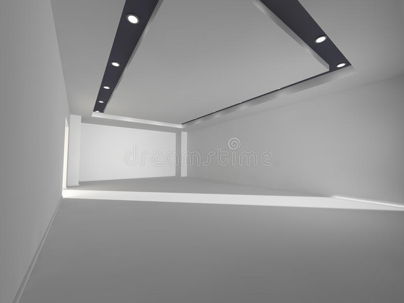 Interior 3D rendering stock photography