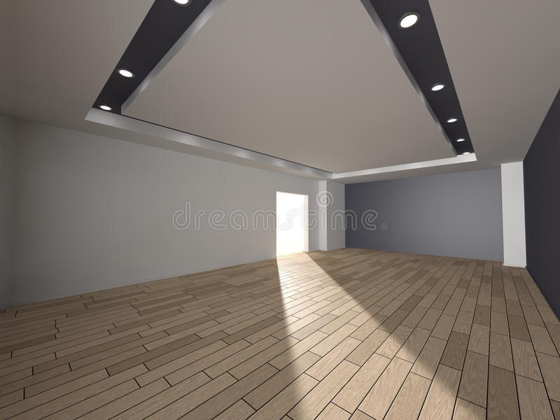 Interior 3D rendering stock images