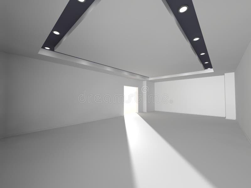 Interior 3D rendering royalty free stock photo