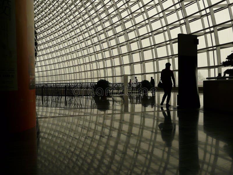 Interior da ópera de Beijing fotografia de stock