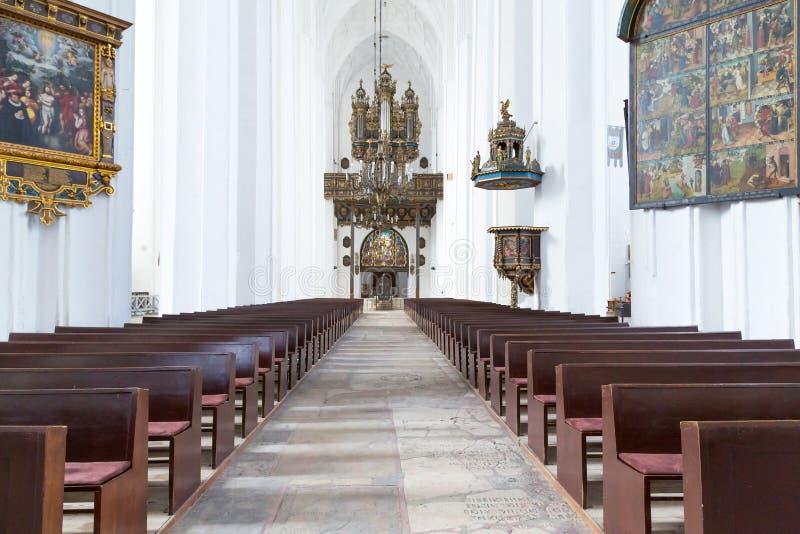 Download Interior Da Basílica De St Mary Em Gdansk Imagem de Stock - Imagem de basilica, famoso: 29835483