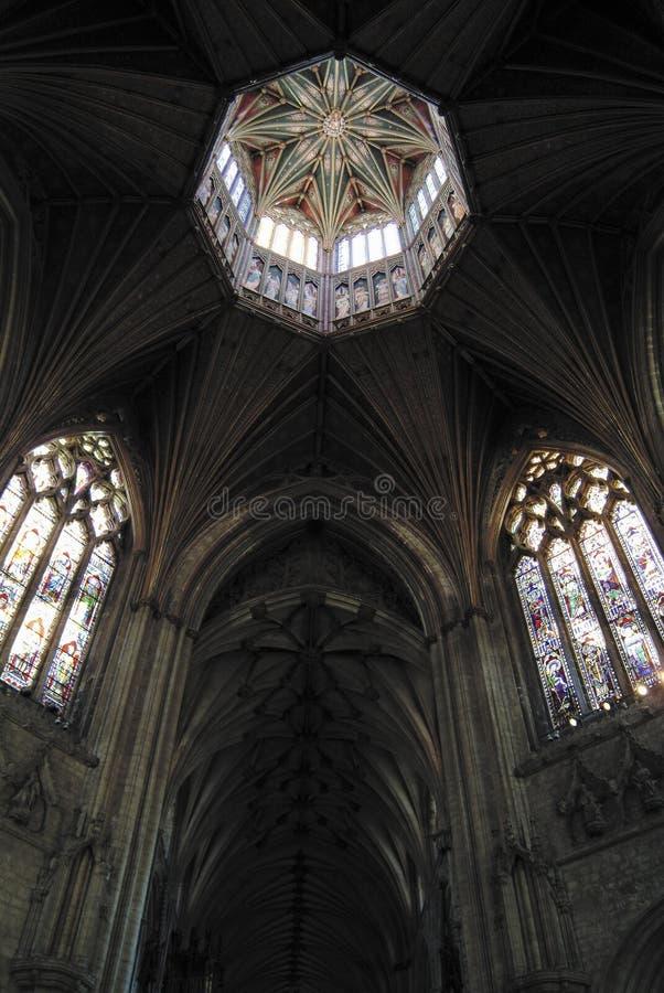 Interior da catedral de Ely imagens de stock