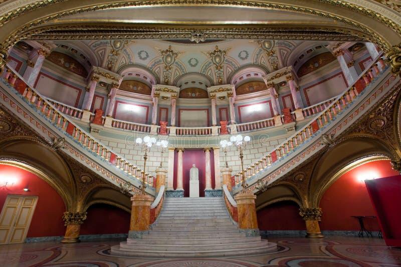 Interior da escada imagens de stock royalty free