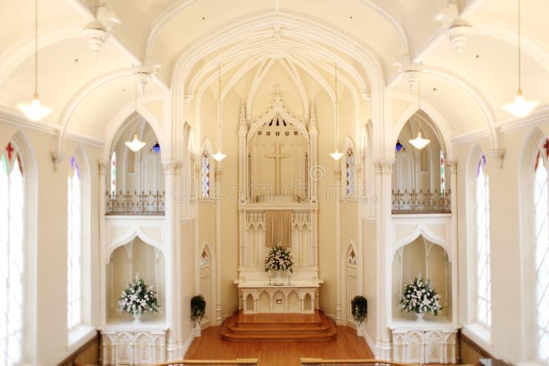 Interior da igreja fotos de stock royalty free