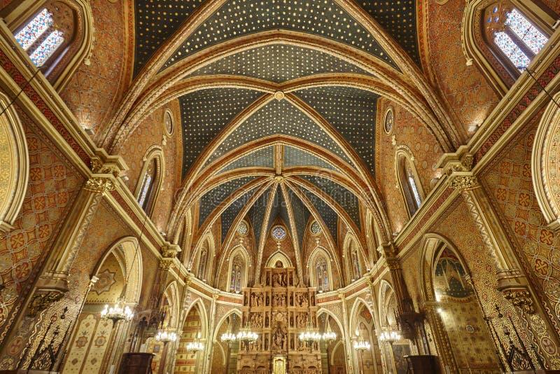 Interior da igreja de San Pedro Herança do destaque de Teruel Excursão da Espanha imagens de stock